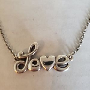 Brighton 'Love Is All You Need' Necklace